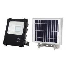 Proyector Solar 20w 6500k Oraculo Negro (17x15,5x5) (24x18x2,5) Intensidad Regul