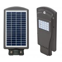 Farola Solar 10w 6500k Gaya Gris  40x20,5x5,5