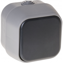 Interruptor Unipolar Bert Ip54 Gris