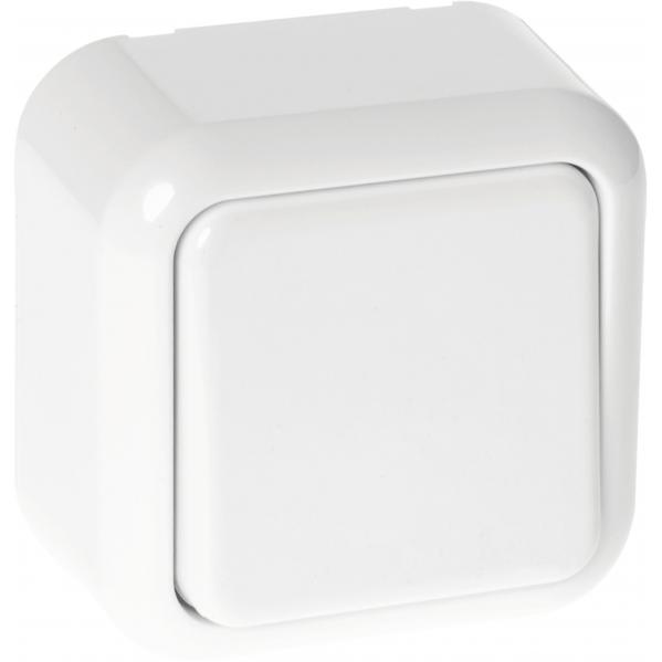 Interruptor Unipolar Ancient Blanco 6x6x4