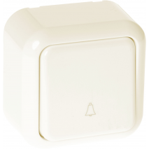 Pulsador Timbre Serie Ancient Beis 6x6x4