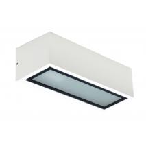 Aplique Exterior Corgo Blanco 1xe27 Ip54 7,5x25,5x10