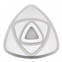 Plafon/colgante Sabiduria 80w Blanco 3temp 7200lm3000k 4000k 6500k 50x50