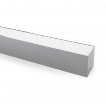Colgante Regleta  40w 3000k  Linex Aluminio 3200lm REGX120X6