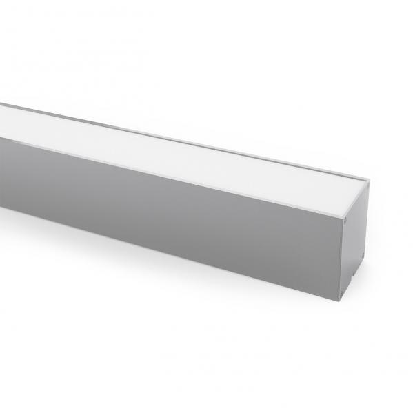 Colgante Regleta  40w 3000k  Linex Aluminio 3200lm 120x5,5x5,7