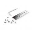 Regleta De Empotrar 40w 4000k Linex Aluminio  3200lm 120x6,5x3,5