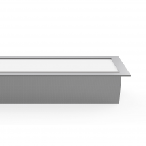 Regleta De Empotrar 40w 6400k Linex Aluminio  3200lm 120x6,5x3,5