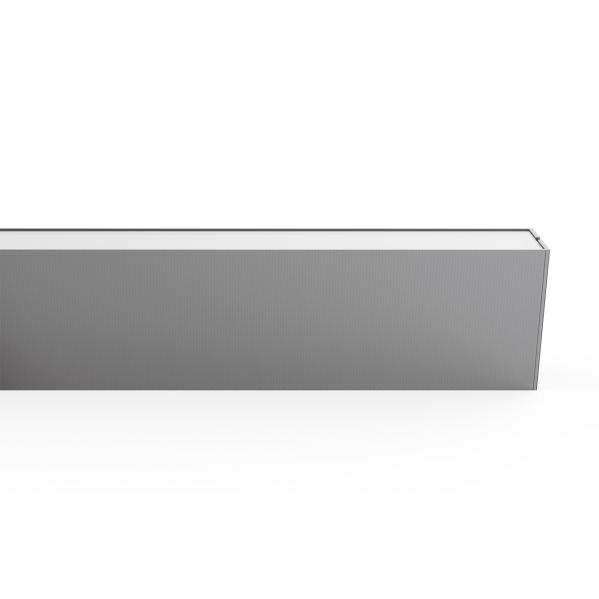 Colgante Regleta 40+16w 4000k Linex Aluminio3200+1200lm 118x4x8 Encend.arriba/abajo
