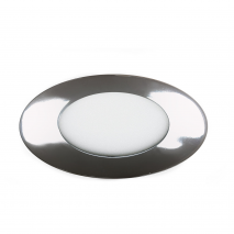 Downlight 5w 4000k Apolo 450lm Cromo 9d