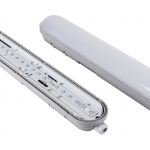 Arm.estanque Linestra 48w Led 6400k 150cm Ip65cinz