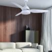 Ventilador Autan Blanco 2xe27 44x132d