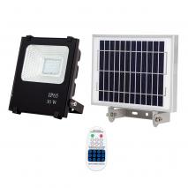 Proyector Solar Tipo Oraculo 30w 6500k C/mando
