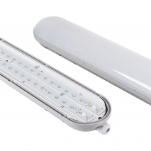 Arm.estanque Linestra 28w Led 6400k 120cm Ip65cinz