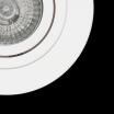 Empotrable Redondo Eros 1xgu10 Blanco 9,2 D