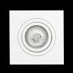 Empotrable Cuadrado Homero 1xgu10 Blanco 9,2x9,2
