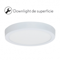 Downlight Sup. 18w 6500k Blister 1425lm 2,8x21,2d