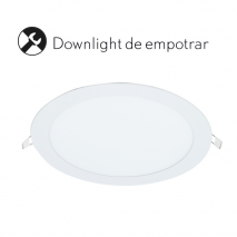 Downlight 18w 6400k Blister 1400lm 22 D
