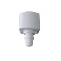 Accesorio Para Colgantes En Carriles Adonis Blanco 37x40x30mm