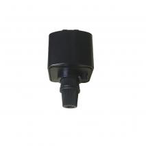 Accesorio Para Colgantes En Carriles Adonis Negro 37x40x30mm