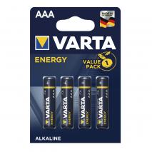 Blister 4 Pilas Aaa/lr03 1,5 V Varta Alkalina Energy