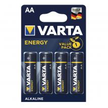 Blister 4 Pilas Aa/lr06 1,5 V Varta Alkalina Energy