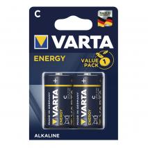 Blister 2 Pilas C/lr14 1,5 V Varta Alkalina Energy