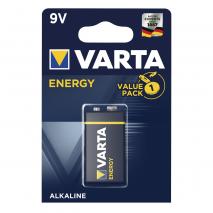 Blister 1 Pila 6lr61 9 V Varta Alkalina Energy