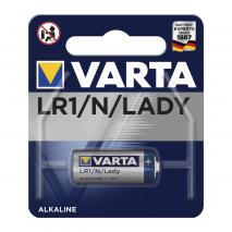 Blister 1 Pila Lr1 1,5 V Varta Alkalina Professional Electronics