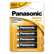Blister 4 Pilas Aa/lr6 1,5 V Panasonic Alkaline Power