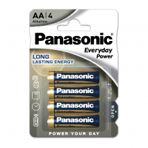 Blister 4 Pilas Aa/lr06  1,5 V  Panasonic Alkaline Everyday-power