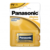 Blister 1 Pila 9v Panasonic Alkaline Power