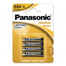 Blister 4 Pilas Aaa/lr03 1,5 V Panasonic Alkaline Power