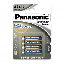 Blister 4 Pilas Aaa/lr03 1,5 V  Panasonic Alkaline Everyday-power