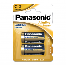 Blister 2 Pilas C/lr14  1,5 V  Panasonic Alkaline Power