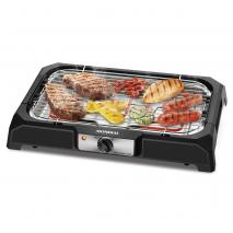 Grill 2000w Gran Steak Parrilla C/altura Ajustable30x48 Bandeja Recoge-grasa Inoxidable