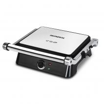 Table Elect.grill Sandwichera 1400w C/termostatoapertura 180º.placas Antiadherentes