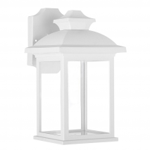 Aplique Exterior Alcandia 1xe27 Blanco Ip44policarbonato 31x17x22,3 cm