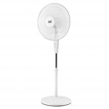 Ventilador De Pie Arifi Blanco 40w 3 Vel. 40d 3 Velocidades Oscilante