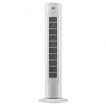 Ventilador Torre Mundaka Blanco 45w 3 Vel 72,5 Cm Oscilante