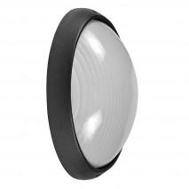 Aplique Ext. Aluminio Vega Grande 1xe27 Negro  32x20,5x11 Cm Ip44