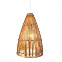 Colgante Bambu 1xe27 Croton Regx25x25 Cm