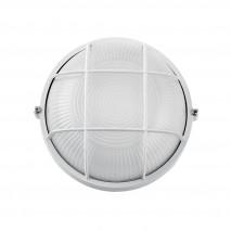 Aplique Ext. Aluminio Apus Pequeño 1xe27 Blanco 17,5x17,5x9 Cm  Ip44