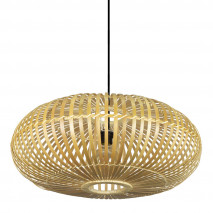 Colgante Bambu Fargesia 1xe27 Natural Regx60x60 Cm