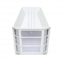 Aplique Exterior Aluminio Acrux 1xe27 Blanco Ip23  24x20x11,5 Cm