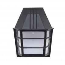 Aplique Exterior Aluminio Acrux 1xe27 Negro Ip23  24x20x11,5 Cm