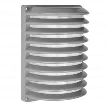 Aplique Exterior Aluminio Achernar 1xe27 Gris Ip44 25,5x18x13