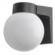 Aplique Exterior Aluminio Procyon 1xe27 Negro 18x18x15 Cm  Ip44