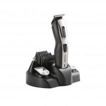 Cortapelos Afeitadora Y Recortadora 48w Acero 5 Cabezales Y 5 Acces. Cepillo Limpieza