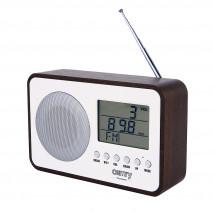 Radio Fm Digital Reloj Despertador Antena Telesc. Sintonizador Autom. Y Manual Cable Usb
