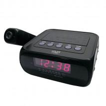 Radio Reloj C/proyector 160º Pantalla Led 70x20mm Am/fm C/altavoz Despertador Musica/tono